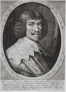 Portret van Johann Albrecht II, Graf von Solms-Braunfels (1599-1648)