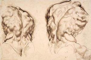 Twee studies van Torso Belvedere