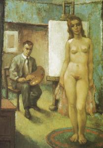 Portret van Marinus Cornelis Wilhelmus Diemel (1903-1983)