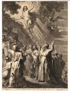 De hemelvaart van Christus (Lucas 24:50-53)
