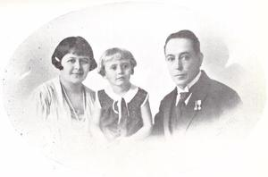 Portret van de familie Romer
