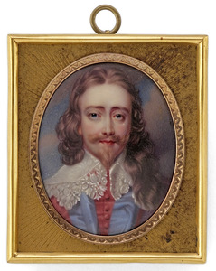 Portret van koning Charles I van Engeland (1600-1649)