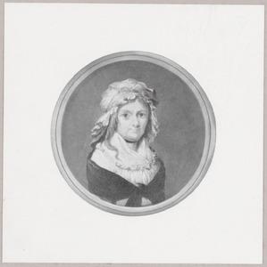 Portret van Elisabeth (Betje Wolff) Bekker (1738-1804)