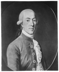 Portret van Idzerd Aebinga van Humalda (1754-1834)
