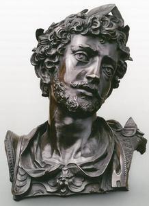 Ideaal portret van een Romeinse keizer of veldheer