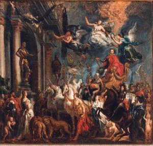 De triomf van stadhouder Frederik Hendrik van Oranje Nassau