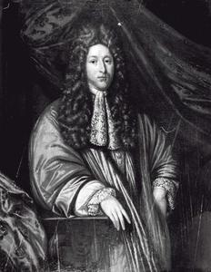 Portret van Sjuck Gerrolt Juckema van Burmania (1652-1720)