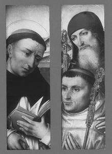 De HH. Dominicus en Antonius met een donor