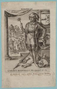 Portret van Karel 'Martel' van Brabant (0676-0741)