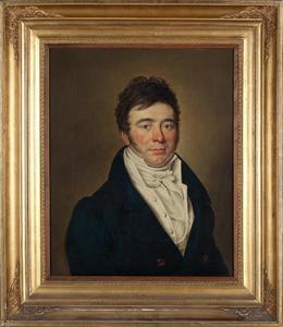 Portret van Francois Willem de Virieu (1789-1876)