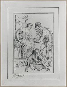 Allegorie met Mercurius