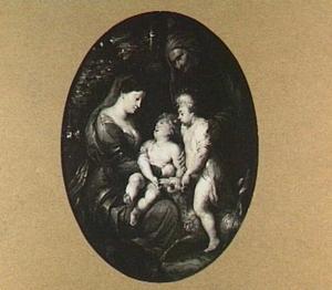 De H. Familie met Johannes de Doper en Elizabeth