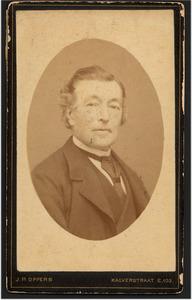 Portret van Antonius Albertus Nicolaas ter Beek (1826-1895)