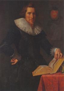 Portret van Johan Pater, echtgenoot van Antonetta Wtewael, dochter van Joachim Wtewael