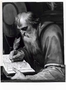 De heilige Hiëronymus in zijn studeervertrek