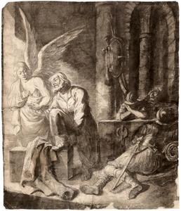 De bevrijding van Petrus uit de gevangenis (Handelingen 12: 7-8)