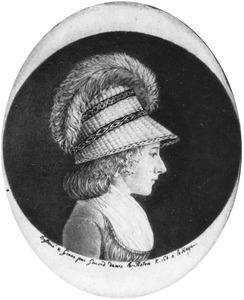Portret van Geertruida van Hogendorp (1765-1800)