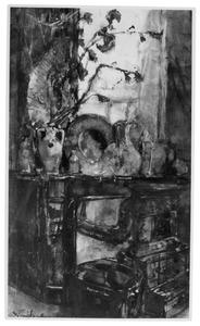 Atelier van de kunstenaar Menso Kamerlingh Onnes