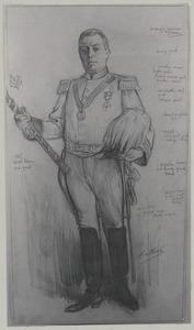 Portret van David Rutgers van Rozenburg (1854-1929)