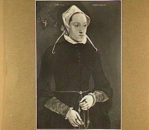 Portret van Maertje Meerman (1642-1606)