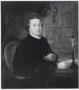 Portret van Wilhelmus Gerardus Somveen (1751-1802), pastoor te Stompwijk