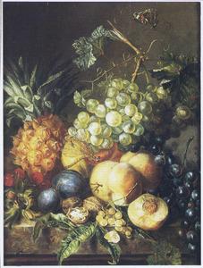 Vruchtenstilleven met ananas