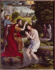 De doop van Christus in de Jordaan (Matt. 3:13-17; Marcus 1:9-11; Lucas 3:21-22; Joh. 1:29-34)