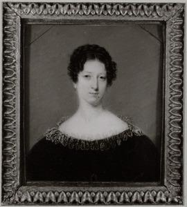 Portret van mogelijk Anna Elisabeth Huydecoper (1796-1832)