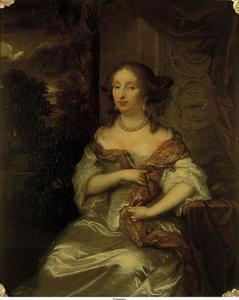 Portret van Elisabeth Bebber (1643-1704)