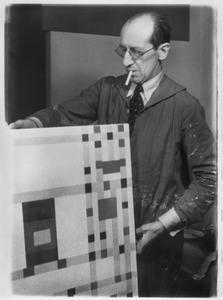 Piet Mondriaan met BROADWAY BOOGIE WOOGIE (B323)
