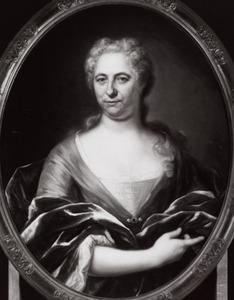 Portret van Gerarda van Sypesteyn (1672-1742)