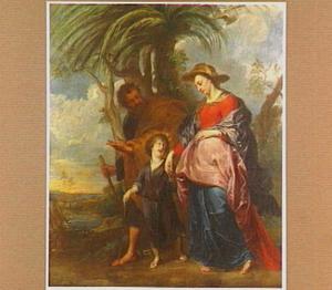 De H. Familie bij terugkeer uit Egypte