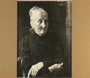 Portret van Louise Aletta van Roijen-Bijleveld (Nijmegen 1833 - Den Haag 1915)