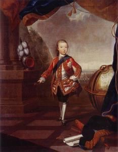 Portret van Willem V van Oranje-Nassau (1748-1806)