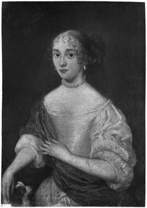 Portret van mogelijk Machellyne Lestevenon (1632-1656)