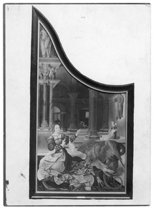 De H. Margaretha en de draak (op de binnenzijde: De val van Simon de Magiër)