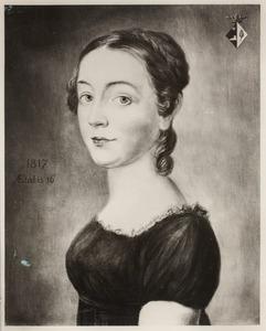 Portret van Eldine Aldegonde Pielat van Bulderen (1801-1878)