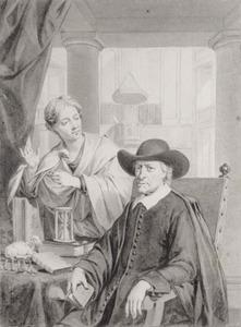 Portret van Galenus Abrahamsz. de Haan (1622-1706)