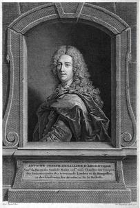 Portret van Antoine-Joseph Dezallier d'Argenville (1680-1765)