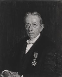 Portret van Jan de Vries (1858-1940)