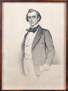 Portret van Dominicus Franciscus Antonius Bauduin (1827-1909)