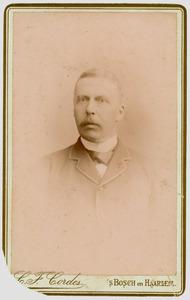 Portret van Peter Maria Frans van Meeuwen (1837-1913)