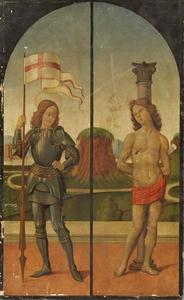 Heiligen George en Sebastiaan