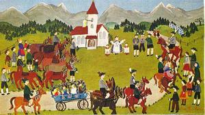 Leonhardi Rit in Unterammergau