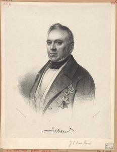 Portret van Jean Chretien Baud (1789-1859)