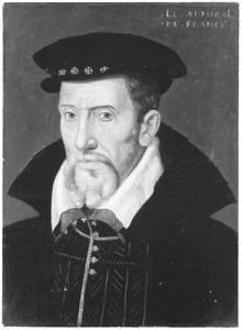 Portret van Gaspard de Coligny (1519-1572), heer van Châtillon, admiraal van Frankrijk