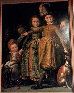 Kinderen van een rijke familie