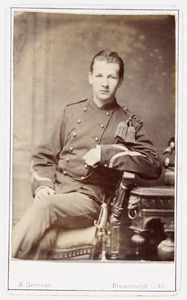 Portret van Jean Baptist Isaac Constantijn van den Heuvel tot Beichlingen Rijnders (1860- )