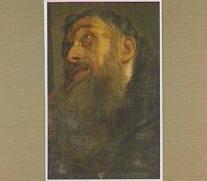 Kop van een heilige (St. Franciscus van Assisi?)