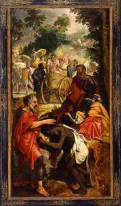 De doop van de kamerling (Hand.8:26-39)